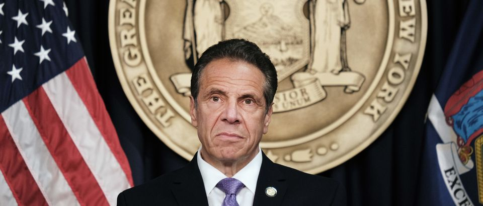 New York Governor Cuomo Makes Announcement In Manhattan
