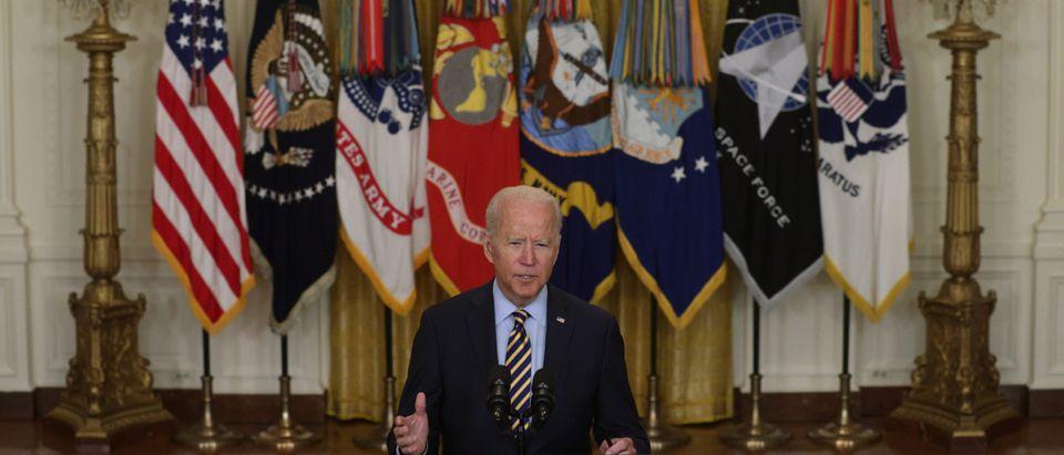 President Biden Delivers Remarks On Afghanistan Withdrawal