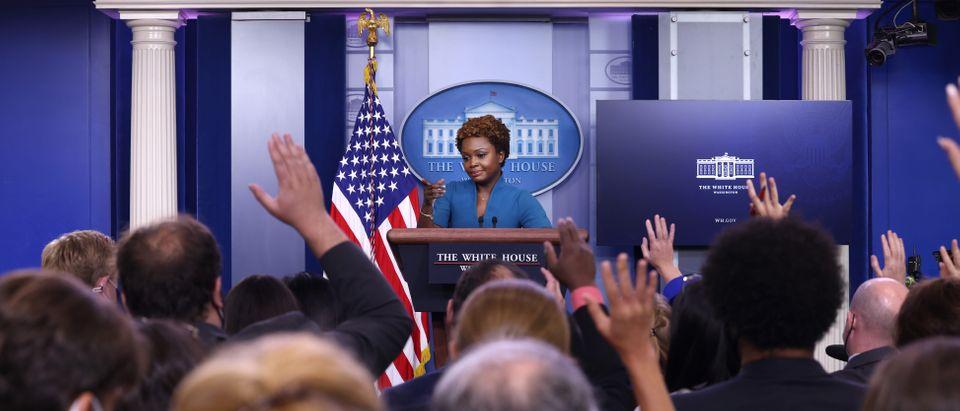 Daily Briefing Held By Principal Deputy White House Press Secretary Jean-Pierre
