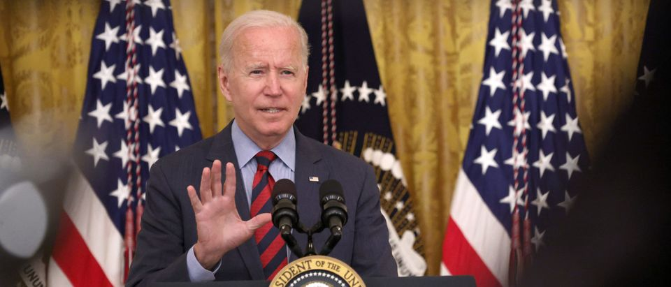 President Biden Delivers Remarks On Progress In Fight Against COVID-19 Pandemic