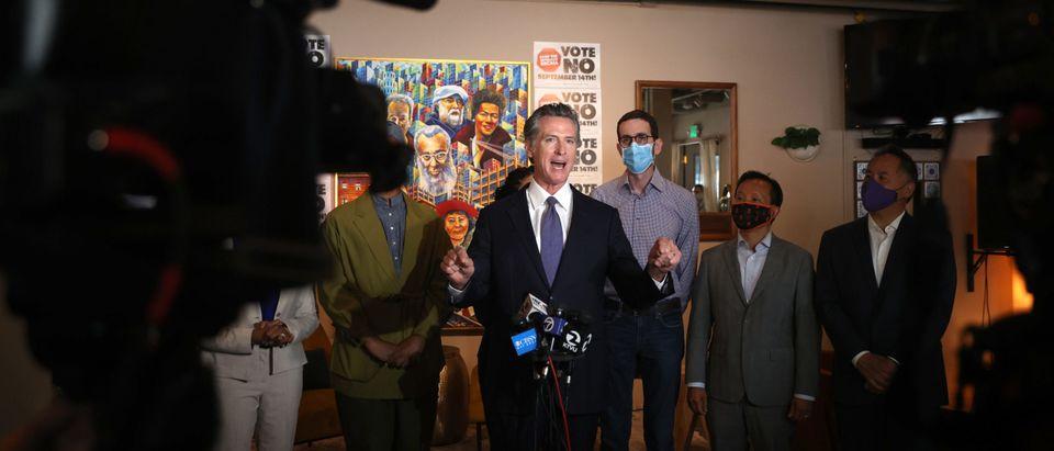 "California Gov. Newsom Starts A ""Say No"" To Recall Campaign In San Francisco"