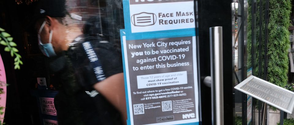 New York City Indoor Locations Begin Checking Vaccination Status For Entry