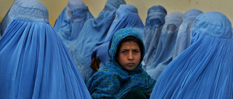 Afghan Women At Kalakan Health Clinic