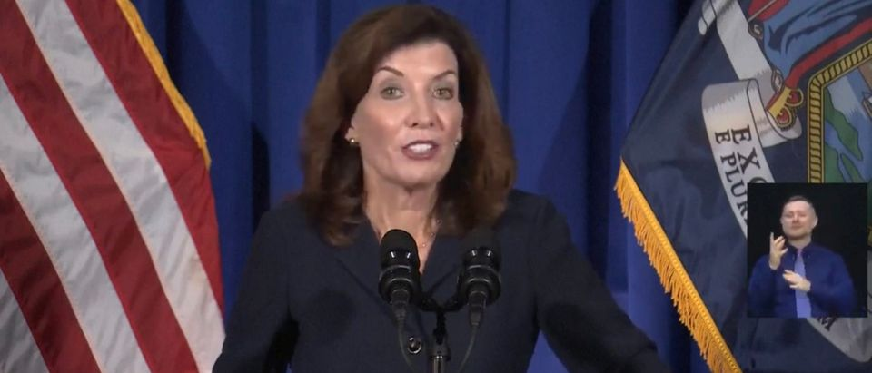 New York Lt. Governor Kathy Hochul. (Screenshot/YouTube/Washington Post)