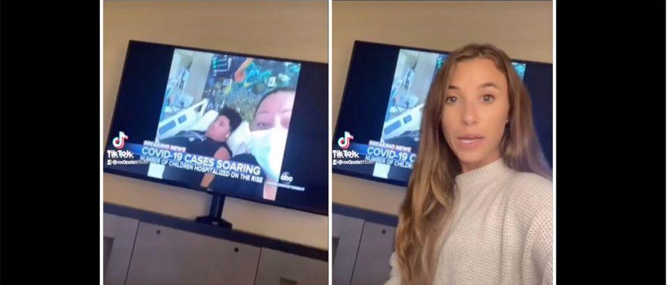 Jessica Maiolo (Credit: Screenshot/Twitter Video https://twitter.com/rx0rcist/status/1423716870599884800)
