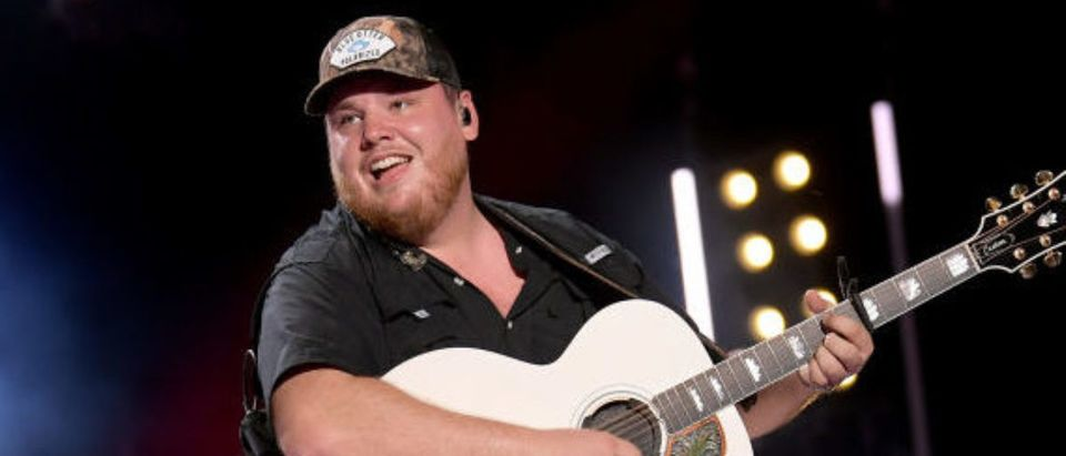 NASHVILLE, TENNESSEE - JUNE 08: Luke Combs performs on stage during day 3 of the 2019 CMA Music Festival on June 08, 2019 in Nashville, Tennessee. (Photo by Jason Kempin/Getty Images)