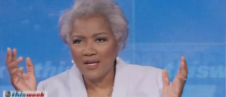 """Donna Brazile appears on """"This Week."""" Screenshot/ABC"""