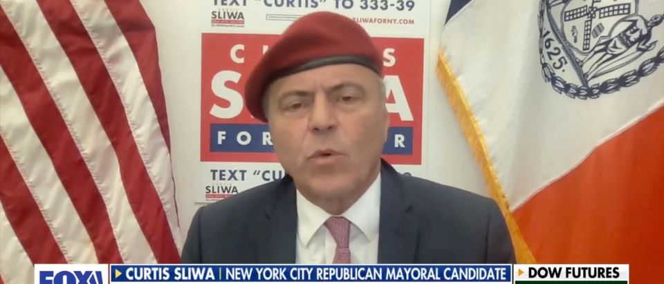 Republican NYC Mayoral Candidate, Curtis Sliwa appears on FOX Business.