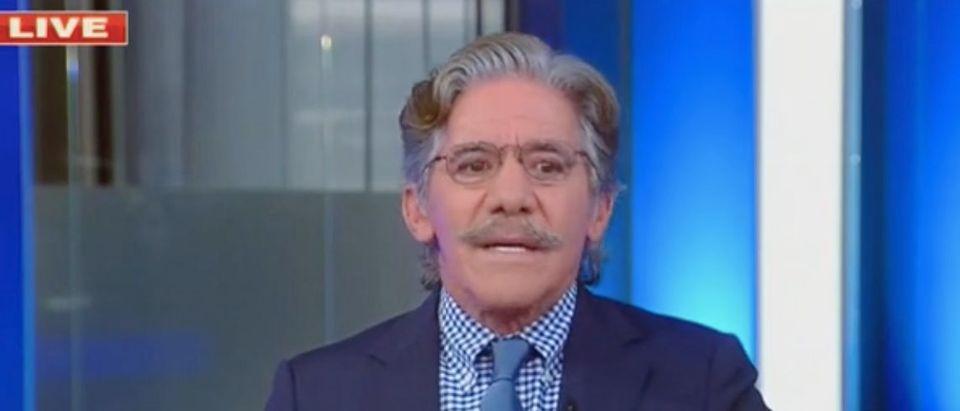 "Geraldo Rivera appears on ""The Five."" Screenshot/Fox News"