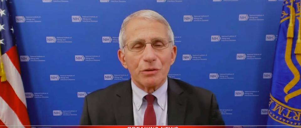 Dr. Anthony Fauci spoke about upcoming boosters shots on Thursday. (Screenshot WKMG-TV (CBS 6; Orlando, Fla., CBS THIS MORNING)