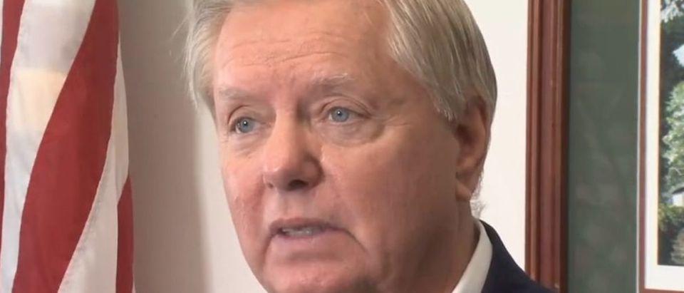 Screen Shot:Lindsey Graham:Fox Carolina News:Facebook Video