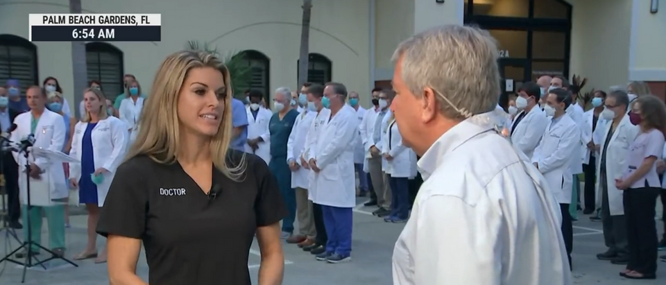 75 Doctors Stage Walkout At South Florida Hospital To Protest Treating Unvaccinated People With COVID