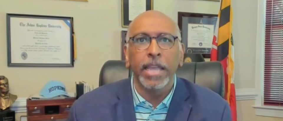 """Michael Steele appears on """"Andrea Mitchell Reports"""" Screenshot/MSNBC"""