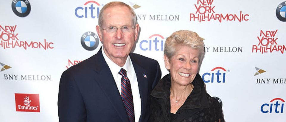 NEW YORK, NY - SEPTEMBER 21: Former Head Coach for the New York Giants Tom Coughlin and wife Judy Coughlin attend New York Philharmonic's Opening Gala Celebrating the 175th Anniversary Season at David Geffen Hall on September 21, 2016 in New York City. (Photo by Nicholas Hunt/Getty Images for New York Philharmonic)