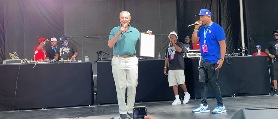 chuck schumer rapping