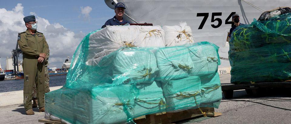 U.S. Coast Guard Offloads Largest Drug Seizure In Its History In Florida