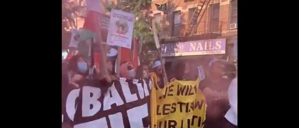 globalize the intifada, anti-israel protest