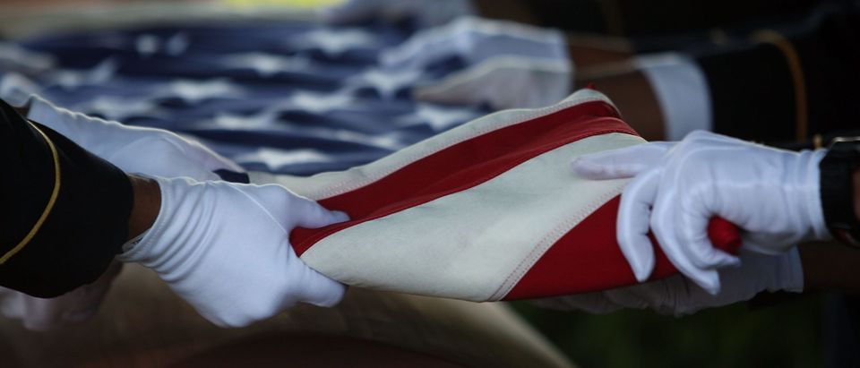 Funeral Held For Soldier Killed In Iraq