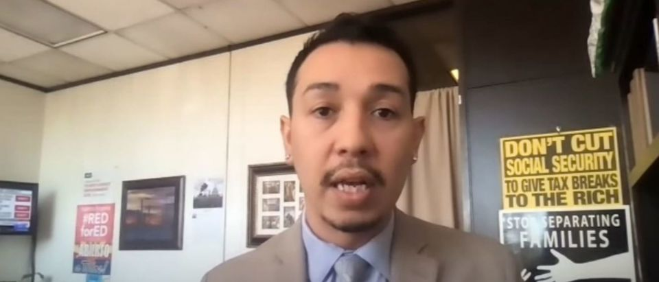 State Sen. Tony Navarrete, arrested Thursday on suspicion of sexual conduct with a minor. (Screenshot/YouTube/azfamily)