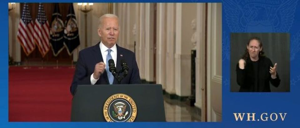 Biden Says 90% Of Americans Who Wanted To Leave Afghanistan Got Out