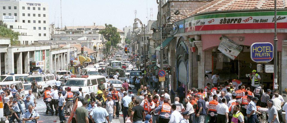 Suicide Bombing Kills 18 in Jerusalem