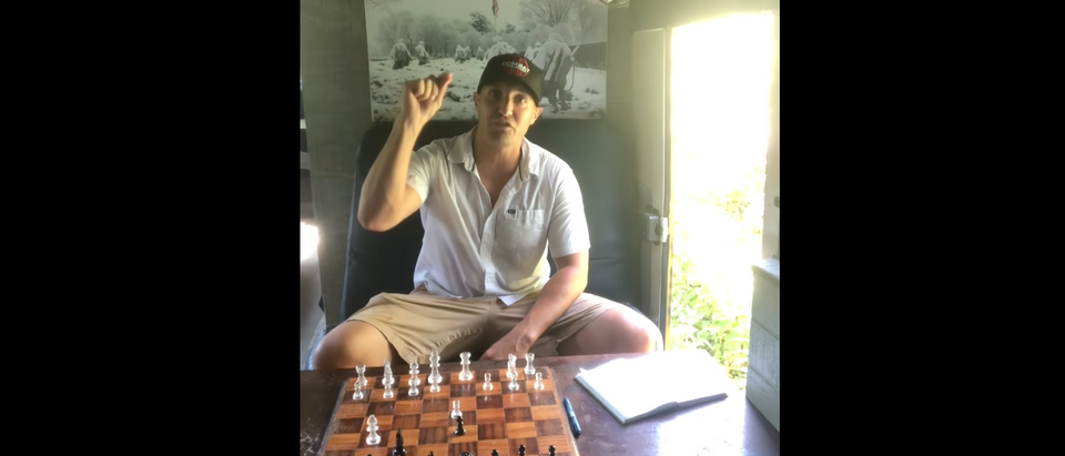 "Stuart Scheller Youtube Video Titled ""Your Move"""