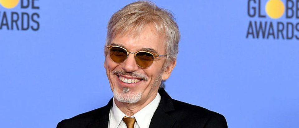 BEVERLY HILLS, CA - JANUARY 08: Actor Billy Bob Thornton, winner of Best Performance in a Television Series - Drama for 'Goliath,' poses in the press room during the 74th Annual Golden Globe Awards at The Beverly Hilton Hotel on January 8, 2017 in Beverly Hills, California. (Photo by Kevin Winter/Getty Images)