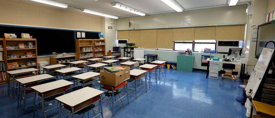 Empty Classroom Getty