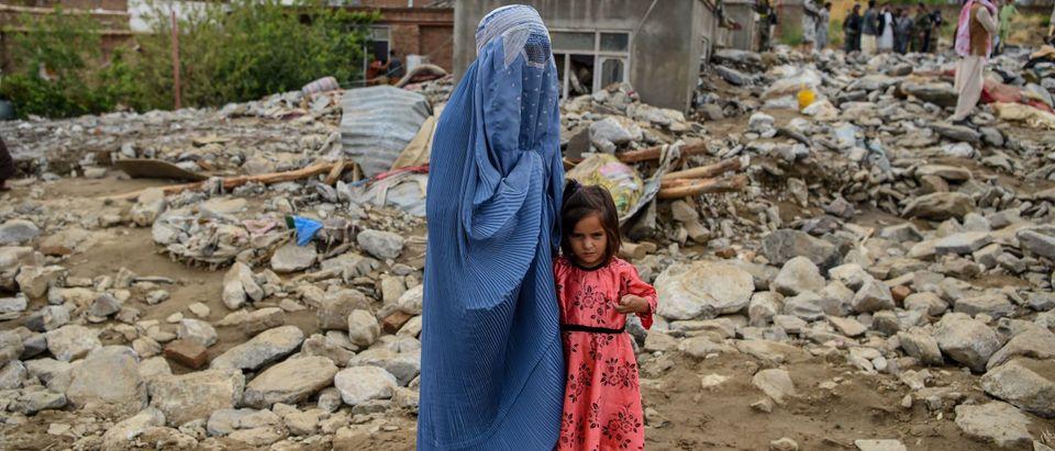 TOPSHOT-AFGHANISTAN-WEATHER-DISASTER-FLOODS