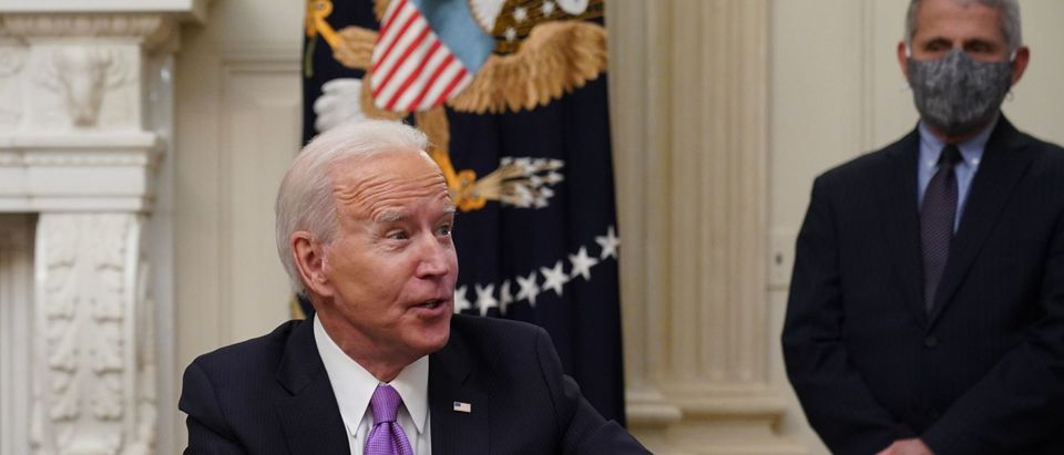 Biden Said He'd Shut Down The Virus. Now The Pandemic Has No End In Sight