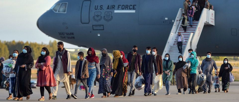 SPAIN-US-AFGHANISTAN-CONFLICT-EVACUATION