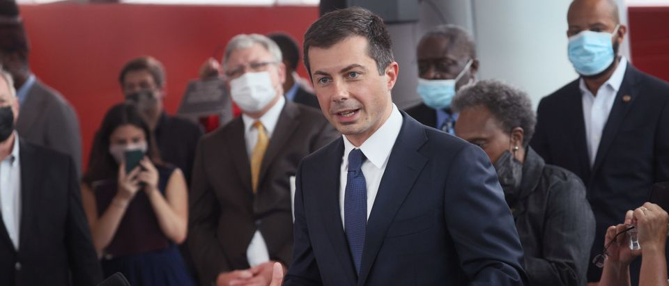 Transportation Secretary Buttigieg Meets With Labor And Rail Leaders In Chicago