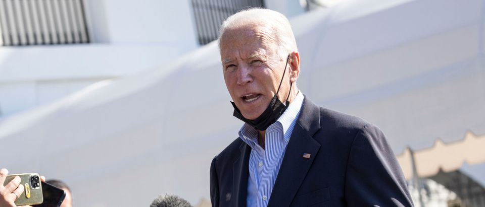 President Biden Departs The White House Enroute To Visit New Jersey And New York