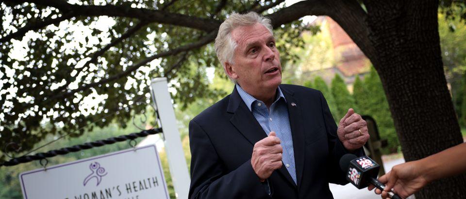 Virginia Gubernatorial Candidate Terry McAuliffe Tours Health Center