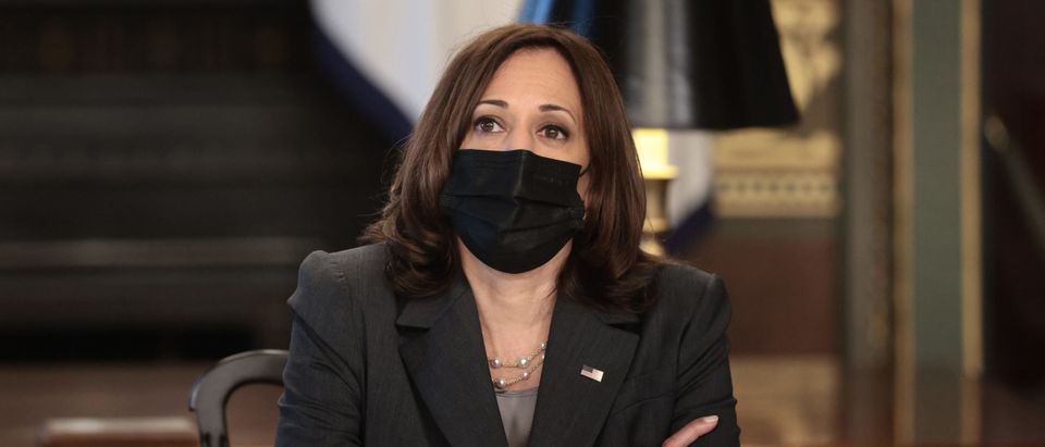 Vice President Harris Hosts Roundtable Discussion On Reproductive Rights
