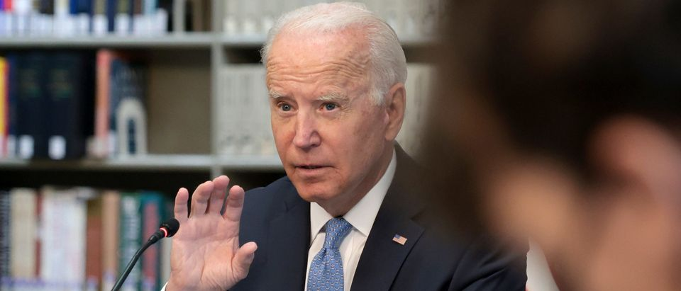 President Biden Meets With Business Leaders To Discuss Covid Response