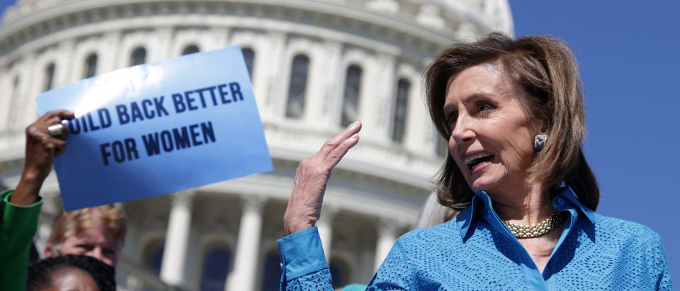 Speaker Nancy Pelosi And House Democrats Hold News Conference On Women's Health Protection Act