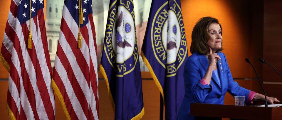 Speaker Pelosi Speaks During Weekly Press Conference