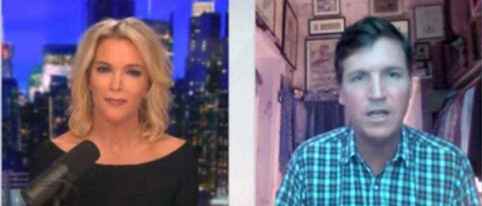 Tucker Carlson Joins Megyn Kelly