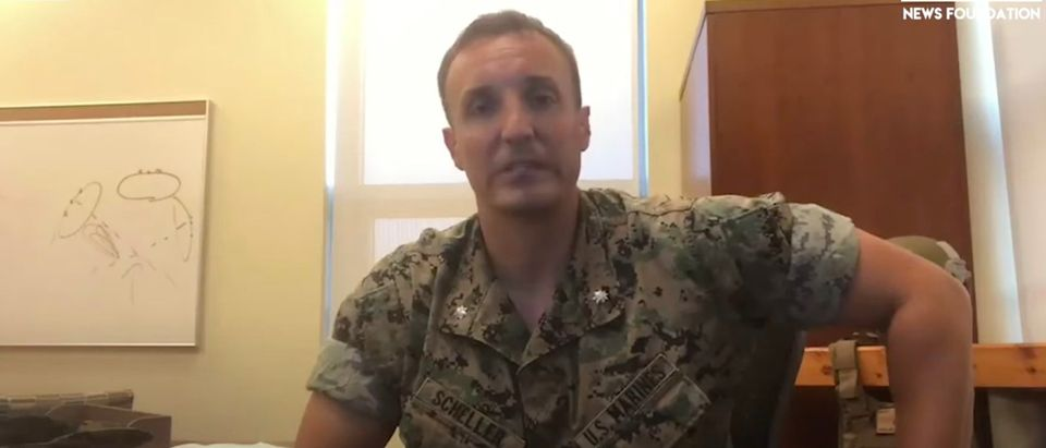 Lt. Col. Stuart Schiller speaks out about Afghanistan withdrawal [Youtube:Screenshot:The DC Shorts]