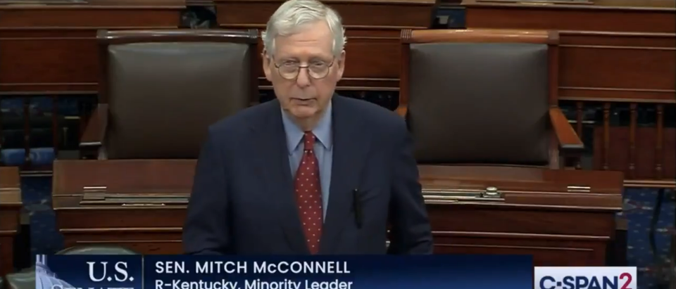 Mitch McConnell Booster Shot