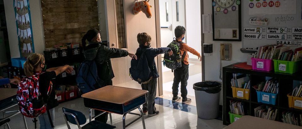 Pandemic Schools Getty