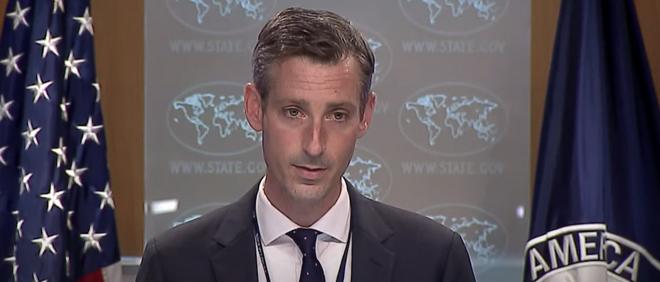 NED PRICE STATE DEPARTMENT PRESS BRIEFING