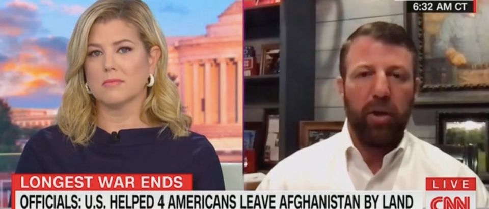 Brianna Keilar speaks with Rep. Markwayne Mullin. Screenshot/CNN