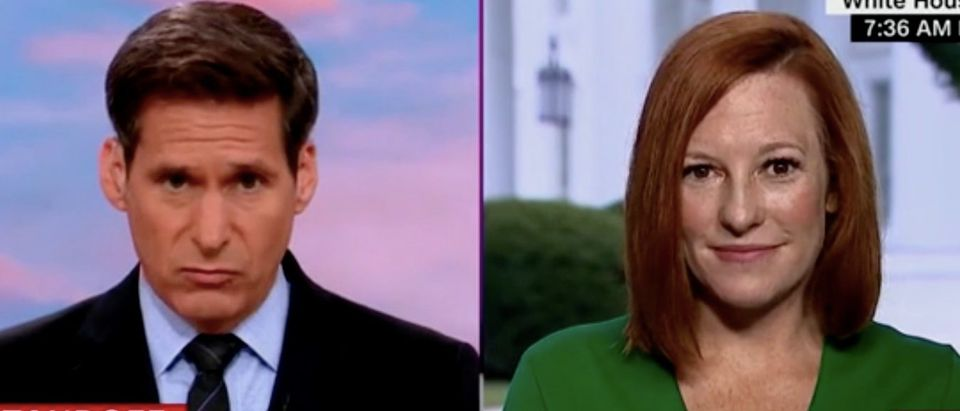 "John Berman and Jen Psaki appear on ""New Day."" Screenshot/CNN"