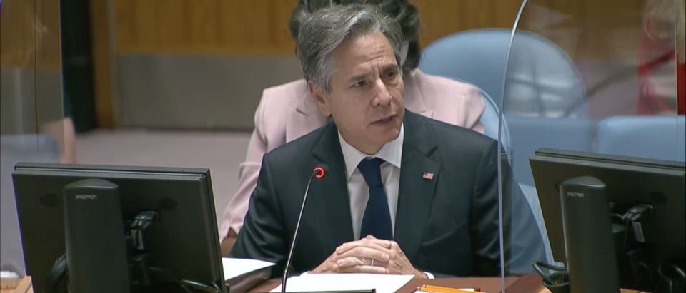 Secretary Antony J. Blinken at UN Security Council Meeting on Climate and Security