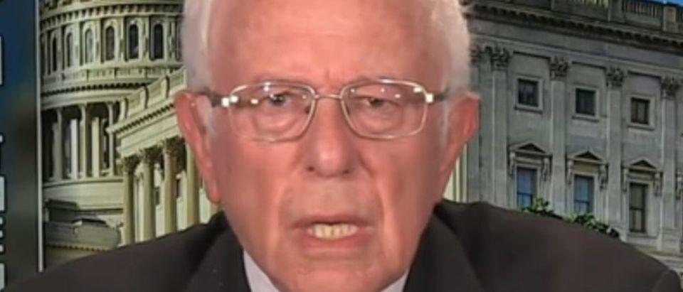 Screen Shot_Youtube_Face the Nation_Bernie Sanders