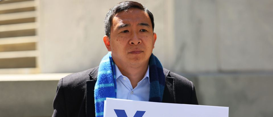 New York City Mayoral Candidate Andrew Yang Calls For Schools To Fully Reopen In Fall