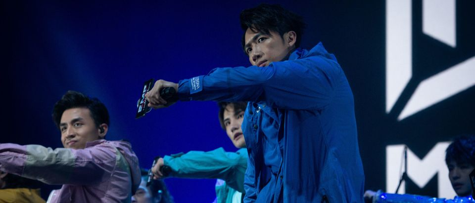 "Hong Kong band ""Mirror"" performances at the main stage during the E-Sports and Music Festival Hong Kong 2019 on July 28, 2019 in Hong Kong, China. (Photo by Ivan Abreu/Getty Images for Hong Kong Tourism Board)"