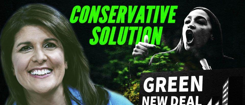 Nikki Haley, green new deal